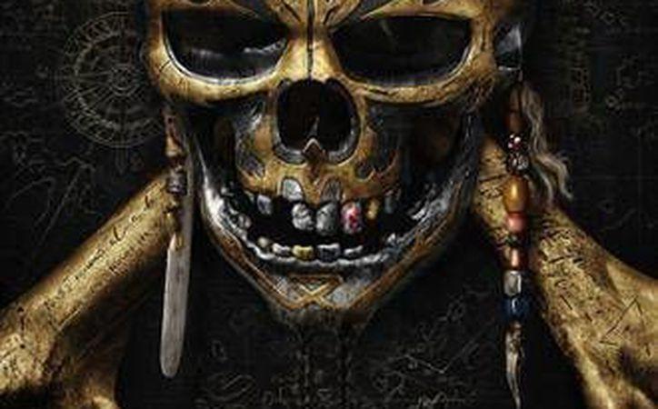 Póster oficial de 'Piratas del Caribe 5: la Venganza de Salazar', película protagonizada por Johnny Depp. (TNT)