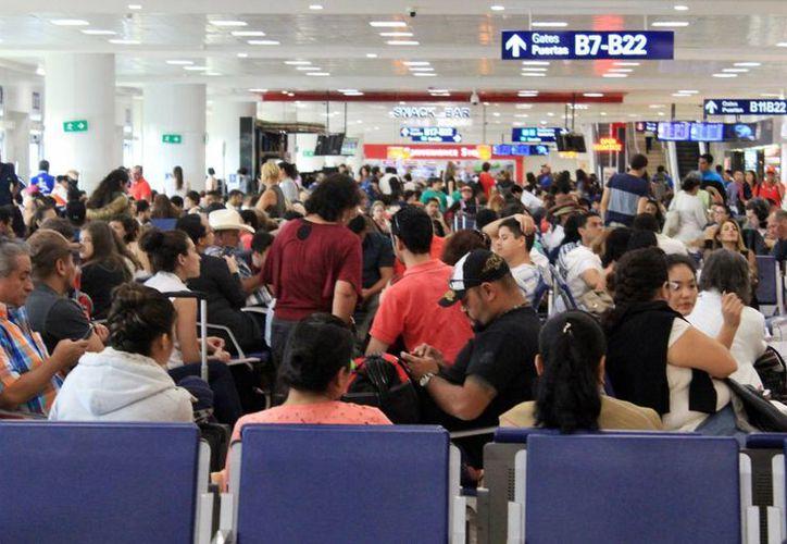 Cada año aumenta la captación de turismo internacional. (Luis Soto/SIPSE)
