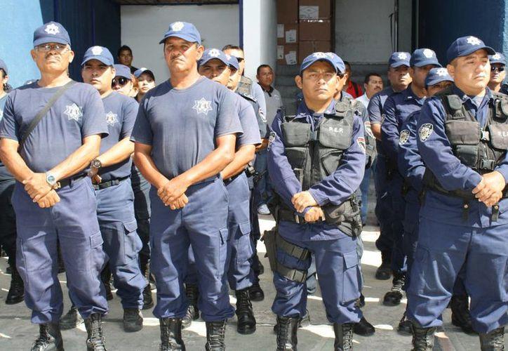 Congrego local analizará la propuesta federal de la creación de un Mando Único Policial y la desaparición de mil 800 corporaciones policíacas municipales. (Harold Alcocer/SIPSE)