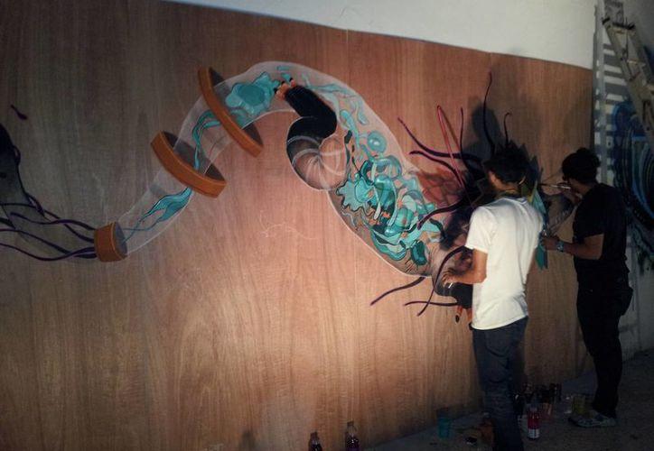 Diversos eventos se han enfocado en promover el arte urbano, como el pasado 'Infección Visual'. (Foto de Contexto/Internet)