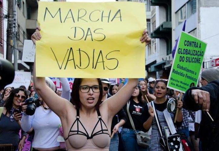 La 'Marcha de las Putas' se realiza en prácticamente todo el mundo. (pt.globalvoicesonline.org)