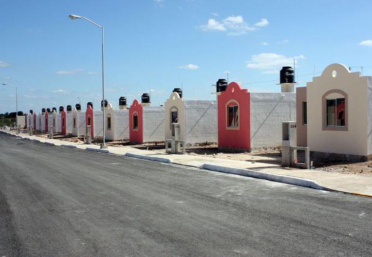 Uno de los programas federales será para construir casas nuevas. (Milenio Novedades)