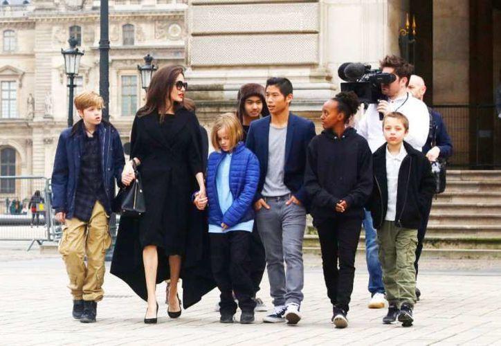Angelina Jolie y Brad Pitt finalmente llegaron a un acuerdo sobre la custodia de sus hijos. (Getty Images)