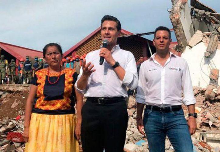 El fuerte sismo dañó bastante algunos estados de la república mexicana. (Foto: El Sol de Tulancingo).