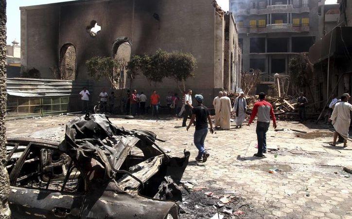 Los islamistas han saqueado templos cristianos de varias partes del país. (Agencias)