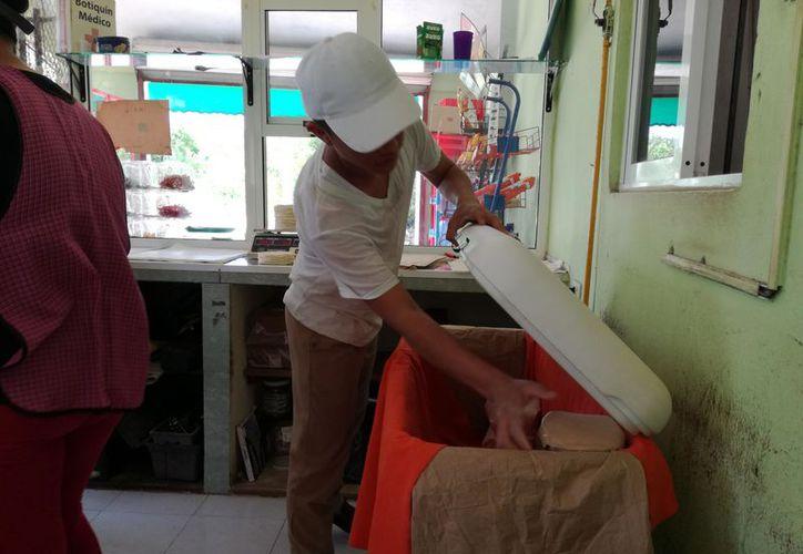 En la cabecera municipal existen 22 tortillerías, entre matrices y sucursales, tres de ellas dejan de trabajar hasta las 12 de la noche. (Jesús Caamal/SIPSE)