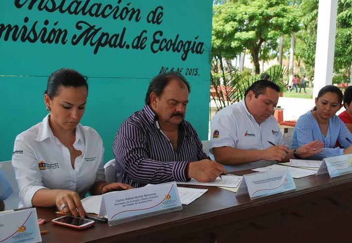 En el seno de la Comisión de Ecología se presentarán proyectos e ideas que permitan solucionar problemáticas ambientales del municipio. (Cortesía/SIPSE)