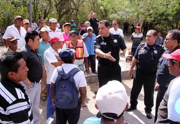 La intervención de la Policía Federal no solucionó el conflicto con los ejidatarios de Chichén Itzá. (José Acosta/SIPSE)