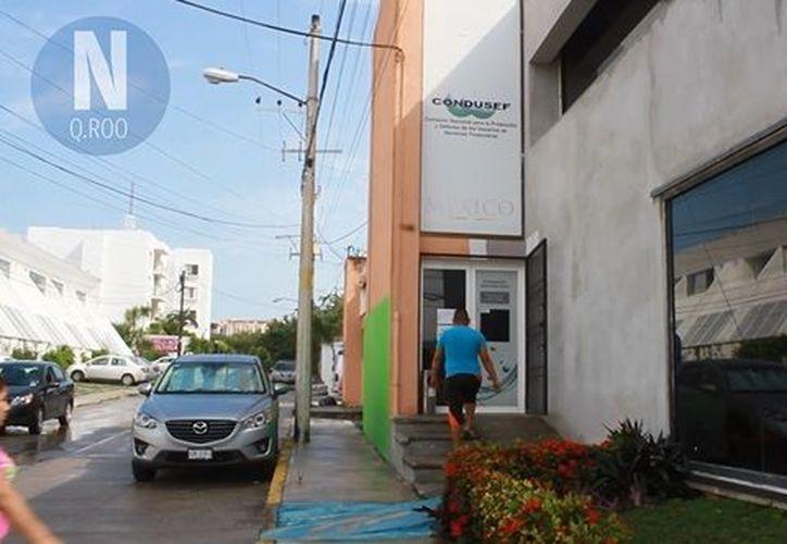 La Condusef Cancún, se encuentra ubicada en la avenida Tulum de la Supermanzana 4. (Redacción)