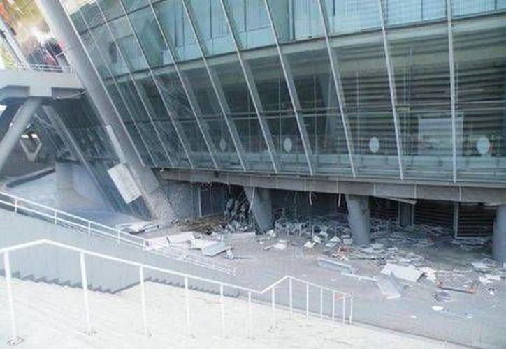 El conflicto bélico entre ucranianos y rusos atentó por primera vez contra el estadio del Shakhtar Donetsk.