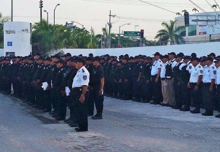 El operativo se desplegará los días 15 y 16 de septiembre en Cancún. (Redacción/SIPSE)
