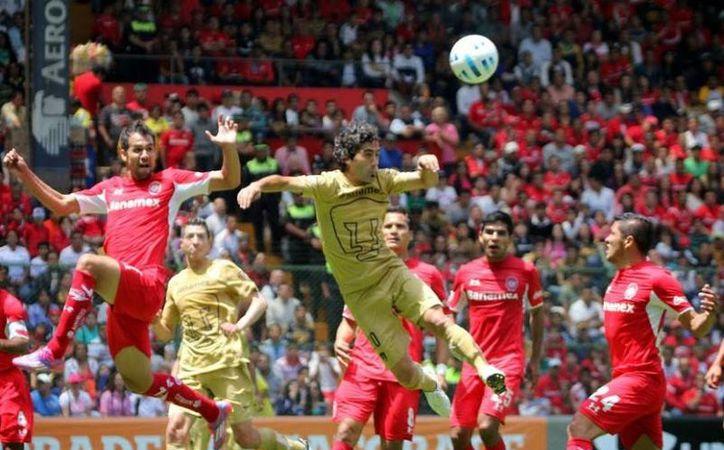 Toluca tiene la octava plaza en la clasificación general y aún no conocen la derrota en el 'Chivo' Córdoba, por lo que este duelo es clave en sus aspiraciones.  (100x100fan.mX)