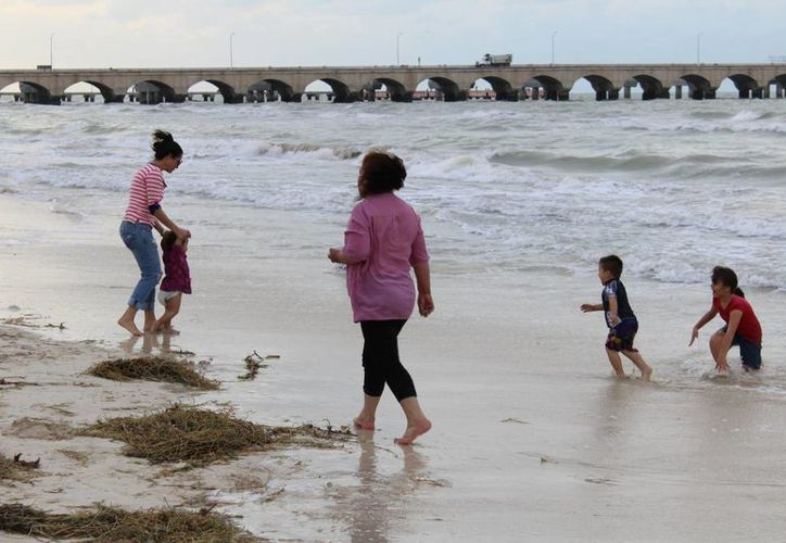 Ayer la temperatura máxima en Yucatán fue 26.1 a las 13 horas, y la mínima de 20.4  a las seis de la mañana, pero ahora se espera que el calor regrese.  (Foto cortesía del Gobierno de Yucatán)