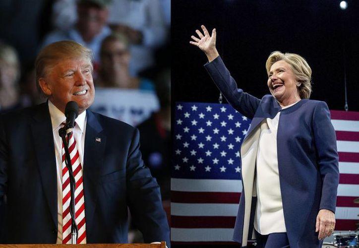 El debate entre Donald Trump y Hillary Clinton se celebrará en Las Vegas apenas tres semanas antes del Día de las Elecciones. (AP)