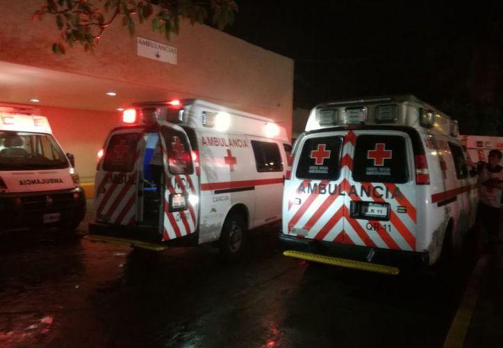 La mujer fue ingresada a la clínica del Seguro Social de la avenida Cobá. (Redacción)