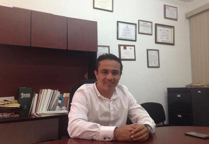 Rafael Chan Magaña, presidente de la Comisión de Presupuesto. (Milenio Novedades)