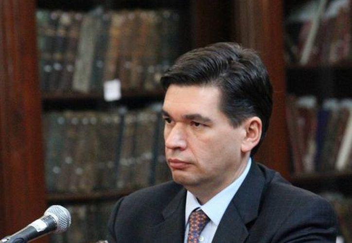 El subsecretario de Hacienda, Fernando Aportela, dio a conocer la situación sobre el PIB en 2014. (shcp.gob.mx)