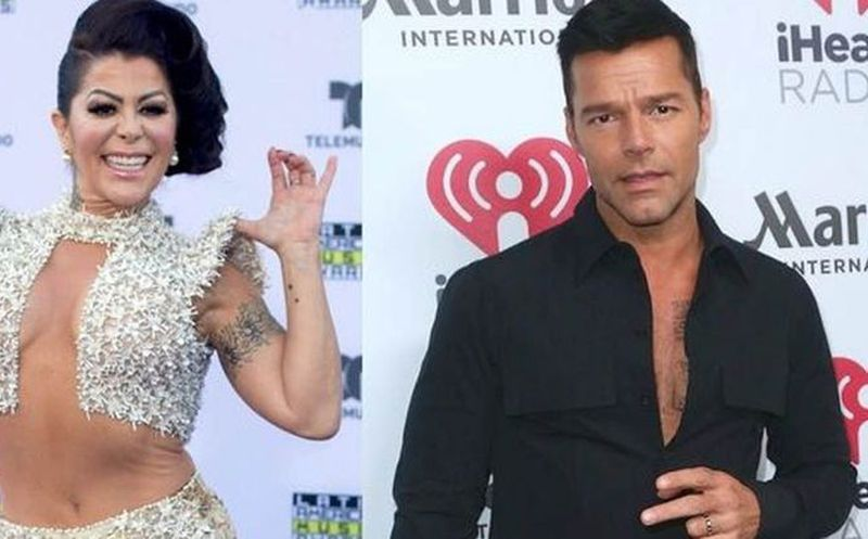 Alejandra Guzmán sabía que Ricky Martin era gay cuando eran novios