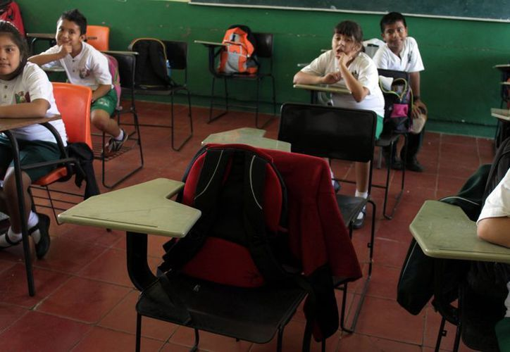 Un total de 293 mil alumnos debieron regresar a clases el día de ayer. (Redacción/SIPSE)