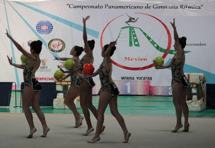 En el Campeonato Panamericano de Gimnasia Rítmica, en Mérida,, competirán unos 100 deportistas de países como Argentina, Bolivia, Brasil, Canadá, Chile, Costa Rica, Guatemala, Puerto Rico y México. (SIPSE)