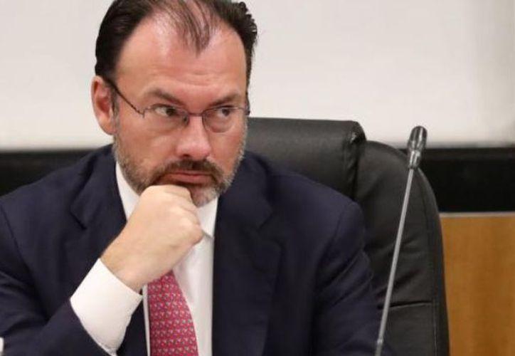El canciller de México, define que debe ser interés de ambos países buscar soluciones prácticas. (Foto: El Debate)