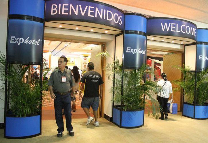 La Exphotel se realizará del 10 al 12 de este mes. (Sergio Orozco/SIPSE)