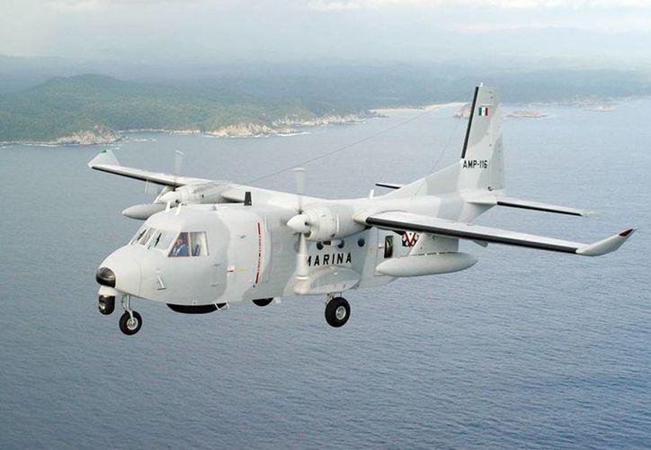 Una de las aeronaves con que cuenta la Armada de México. (Foto: semar.gob.mx)