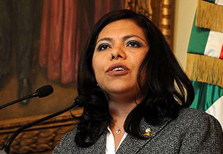 Mirella Guzmán Rosas, pagó una fianza para seguir en libertad durante el proceso judicial que se le sigue en su contra.  (telediario.mx)