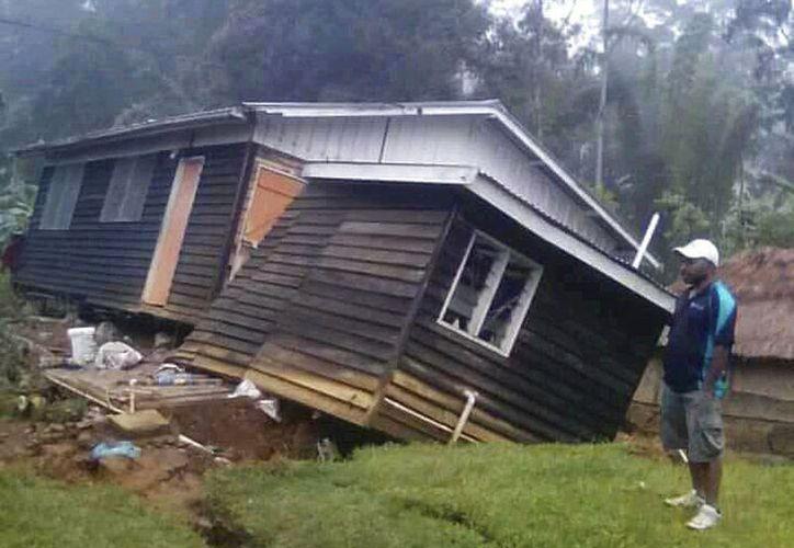 El centro de alerta de tsunamis de Australia no emitió ninguna advertencia. (AP)