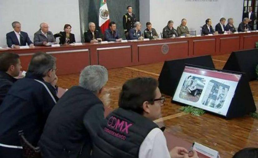 Aún se continúa con la evaluación de edificios en la Ciudad de México. (El Sol de San Juan)