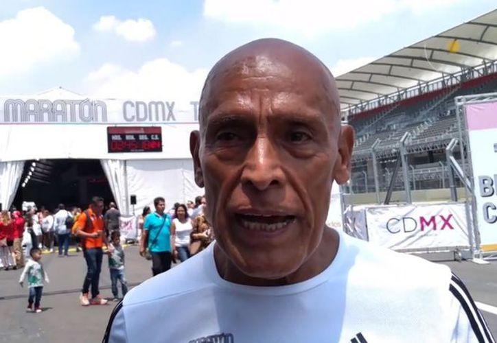 Miguel Ángel Vargas ha corrido los 36 maratones de la Ciudad de México. (Mediotiempo)