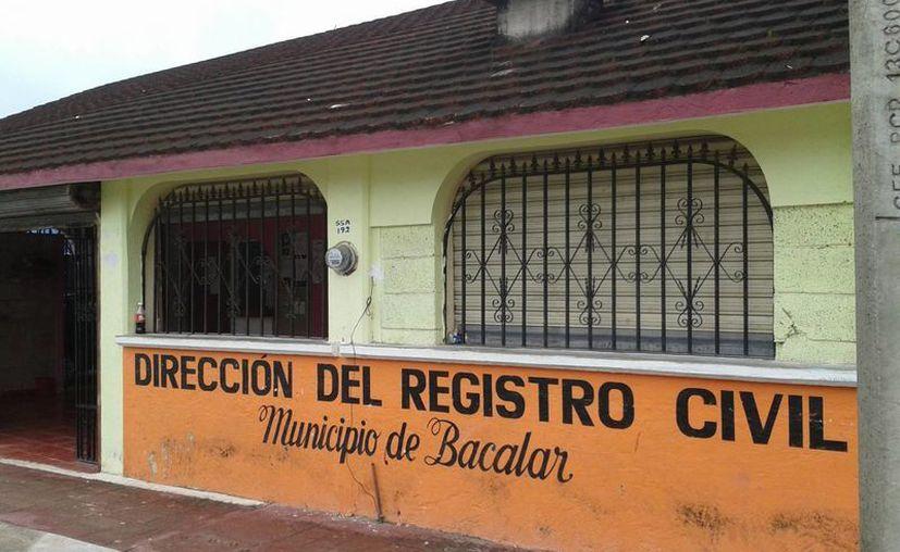 Se proyecta de instalar y equipar tres oficialías en las comunidades de Maya Balam, Altos de Sevilla y Otilio Montaño. (Omar Capistrán/SIPSE)