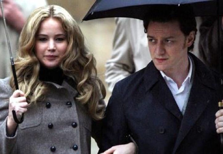 Jennifer Lawrence y James McAvoy están felices porque los superhéroes a los que representan en la saga X Men son una especia de impulso para las minorías. (screencrave.com)