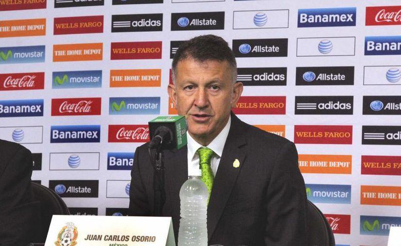 El técnico Juan Carlos Osorio habló sobre las posibilidades de algunos futbolistas de cara a los torneos que enfrentará la Selección Mexicana. (Archivo Notimex)