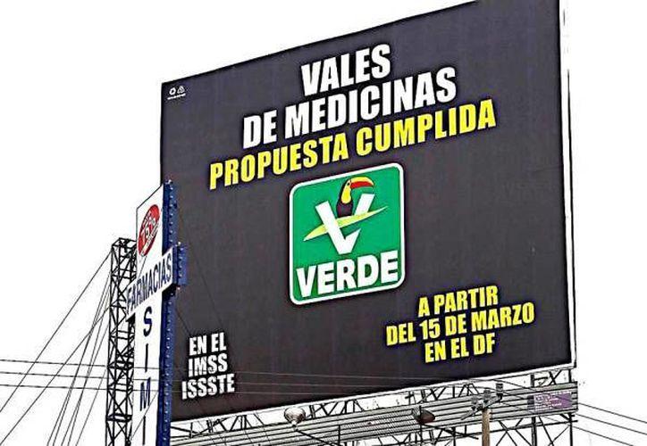 Varios partidos se quejaron contra los anuncios del PVEM. (elmanana.com.mx)