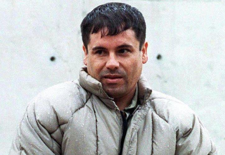 El varón de la droga, basada en la vida del famoso narco mexicano, Joaquín El Chapo Guzmán (foto), prófugo de la justicia, se espera estrenar en Estados Unidos a través del canal UniMás, de la cadena Univision a partir de octubre. (Internet)
