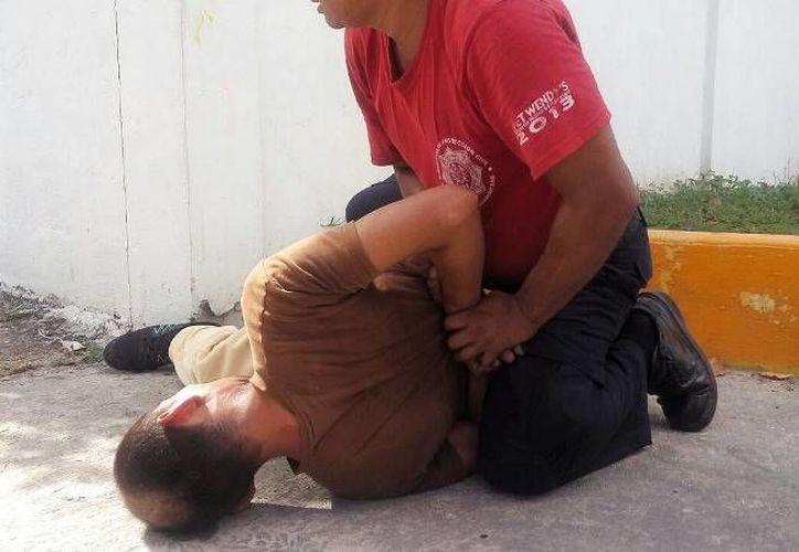 El bombero formó parte de las filas de la Policía Estatal. (Foto: Gustavo Villegas)