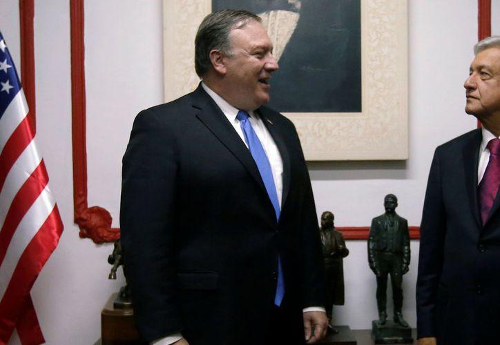 Visita de los representantes del Gobierno de Estados Unidos. (Excélsior)