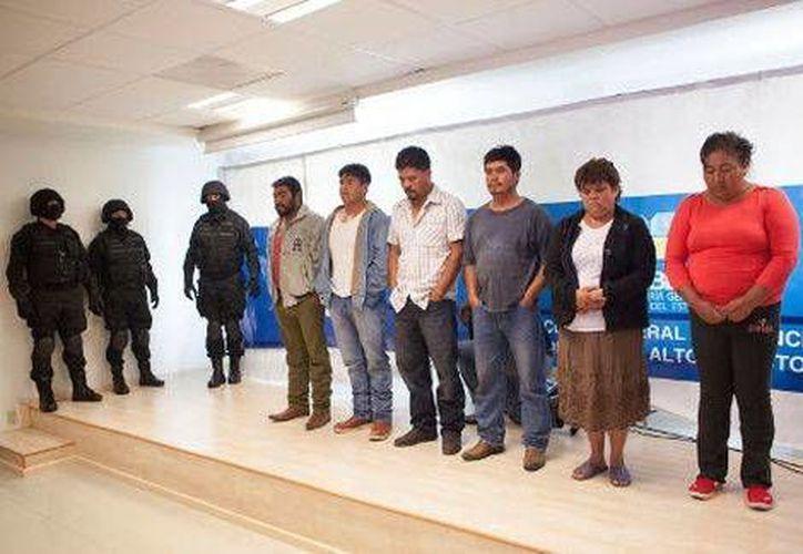 A los detenidos se les relaciona con un secuestro exprés ocurrido en 2012. (Andrés Lobato/Milenio)