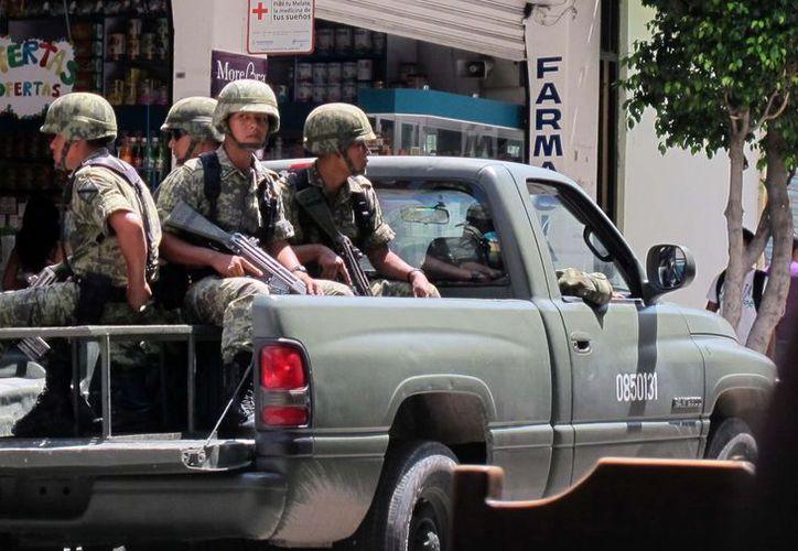 El Ejército reporta cerca de 2 mil 500 ataques en su contra. (Archivo/Notimex)