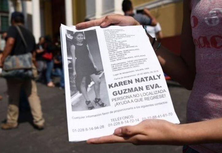 Karen Nataly, de 26 años, fue reportada como desaparecida desde el 28 de abril. (Internet)