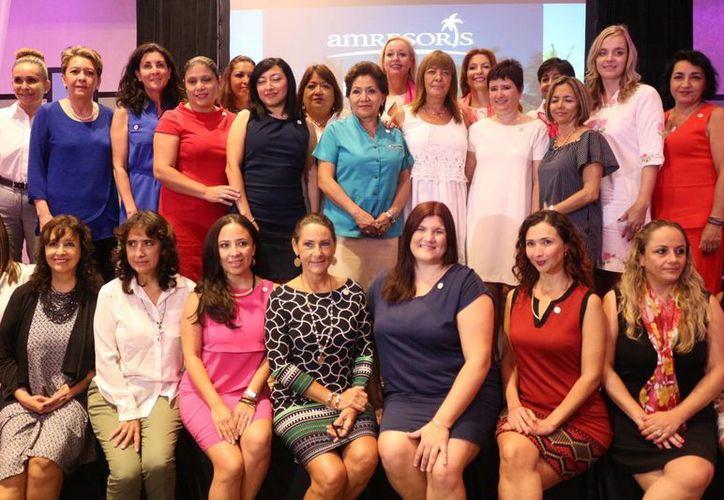 Entre las integrantes de este estado están organizadoras de bodas y eventos, agencias de viajes, (Adrián Barreto/SIPSE)