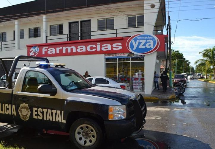 A la colonia Proterritorio llegaron agentes de la Policía Estatal Preventiva (PEP) y de la Policía Ministerial. (Redacción/SIPSE)