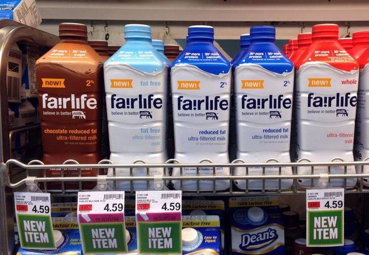 En esta foto del 23 de enero del 2015 se ven los productos Fairlife en una tienda de Indianapolis. (Agencias)