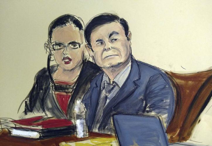 Mañana se reanudarán las deliberaciones para dictarle sentencia Joaquín Guzmán Loera. (AP)