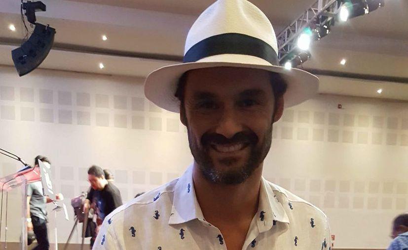 El actor dio a conocer los pormenores de su visita a México. (Jocelyn Díaz/SIPSE)