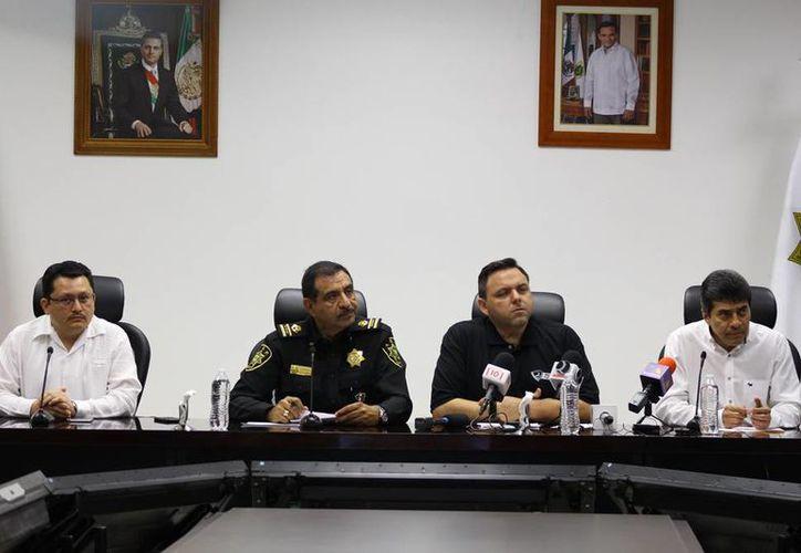 Este viernes, en rueda de prensa, se informó del inicio de operaciones de la Policía Estatal Investigadora. (Milenio Novedades)
