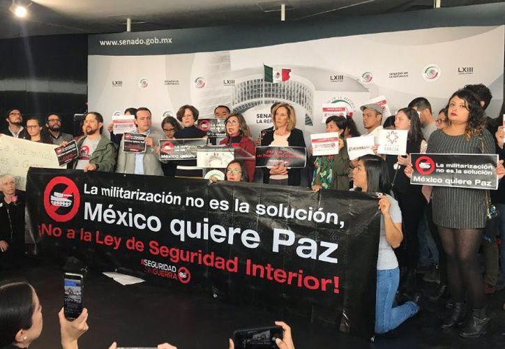 Participan más de 200 organizaciones defensoras de derechos humanos en contra de la ley. (Twitter: FundarMéxico)