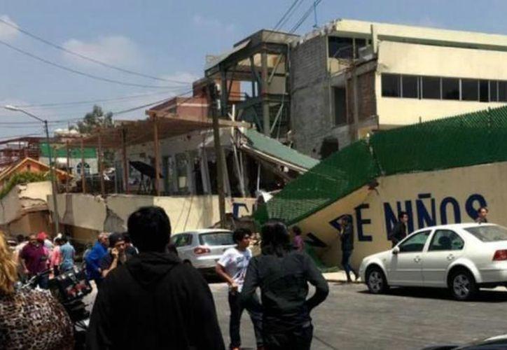 El Gobierno de la Ciudad de México, inició una carpeta de investigación en contra de Mónica García Villegas, dueña del colegio. (La Crónica)