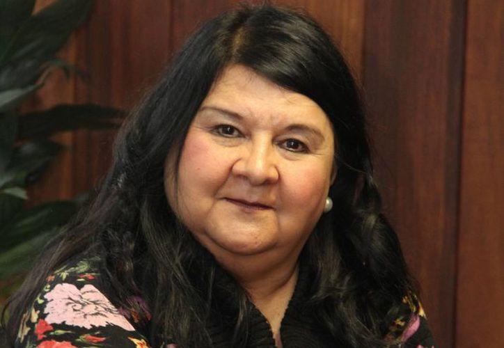 La secretaria de Finanzas de Veracruz, Clementina Guerrero, dijo que autoridades estatales deben tomar medidas de austeridad. (Universidad Veracruzana)